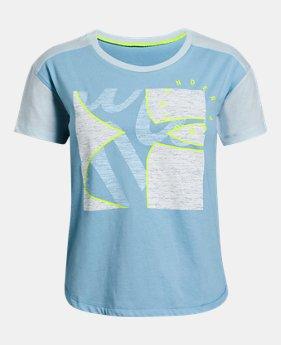 06f35c6c8b Girls' Kids (Size 8+) Yoga & Studio Short Sleeve Shirts   Under ...
