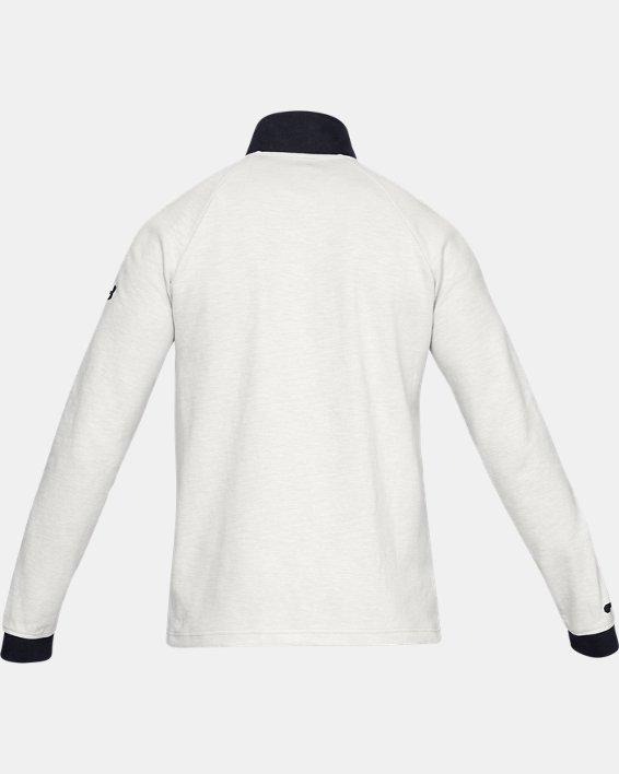 Men's UA Unstoppable Double Knit ½ Zip, White, pdpMainDesktop image number 4