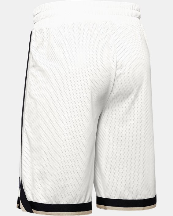 Men's UA Sportstyle Mesh Shorts, White, pdpMainDesktop image number 5