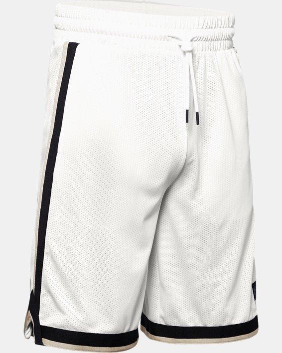 Men's UA Sportstyle Mesh Shorts, White, pdpMainDesktop image number 4