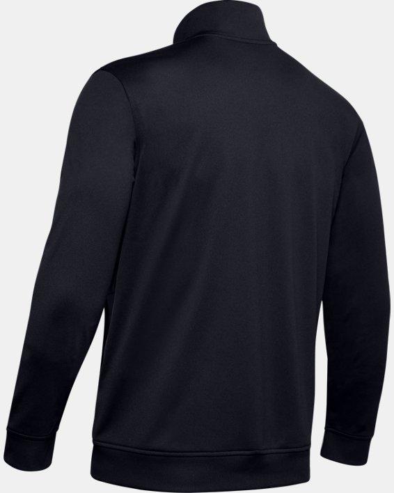 Men's UA Sportstyle Tricot Jacket, Black, pdpMainDesktop image number 7