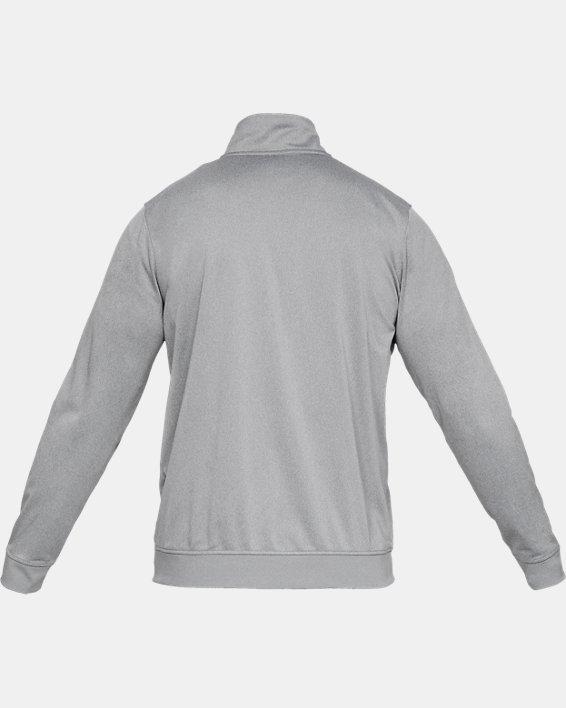 Men's UA Sportstyle Tricot Jacket, Gray, pdpMainDesktop image number 5