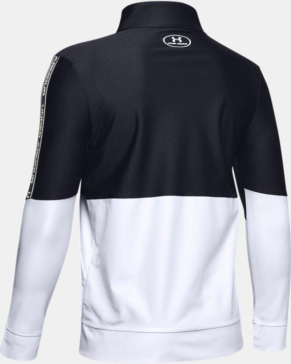 Boys' UA Prototype Full Zip, Black, pdpMainDesktop image number 1