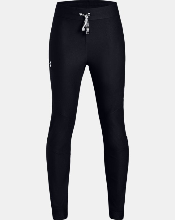 Pantalon UA Prototype pour garçon, Black, pdpMainDesktop image number 4