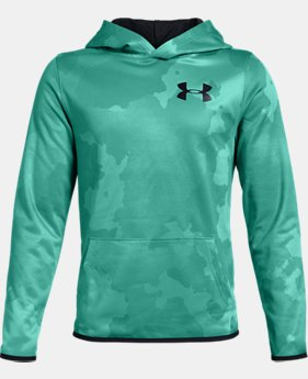 Boys' Armour Fleece® Printed Hoodie  1  Color Available $45