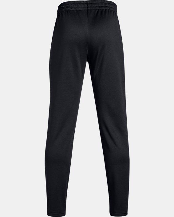 Boys' Armour Fleece® Pants, Black, pdpMainDesktop image number 5