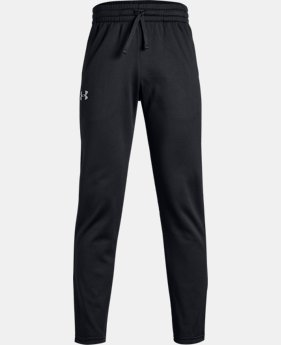 New Arrival Boys' Armour Fleece® Pants  4  Colors Available $40