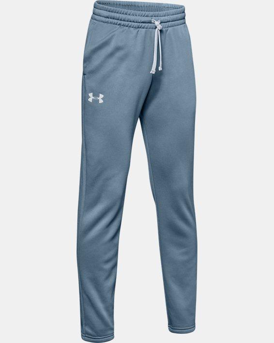 Boys' Armour Fleece® Pants, Gray, pdpMainDesktop image number 4