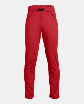 Boys' Armour Fleece® Pants LIMITED TIME ONLY 5  Colors Available $28