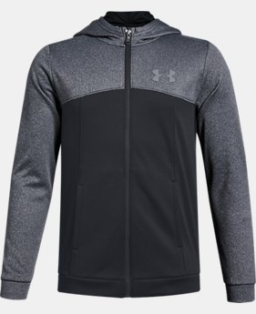 Boys' Armour Fleece® Full Zip Hoodie  1  Color Available $45