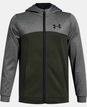 Boys' Armour Fleece® Full Zip Hoodie LIMITED TIME ONLY 1  Color Available $38.5