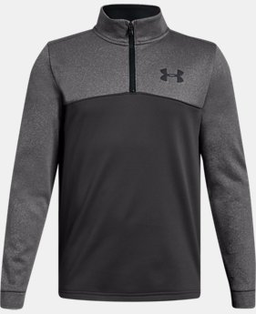 Boys' Armour Fleece® ¼ Zip  2  Colors Available $45 to $50