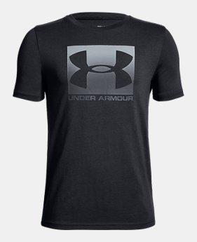 a6986b1450af Boys  UA Box Logo Short Sleeve T-Shirt 3 Colors Available  20