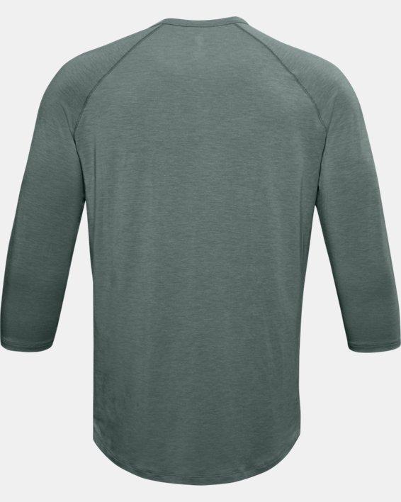 Men's UA RECOVER™ Sleepwear Henley, Blue, pdpMainDesktop image number 3