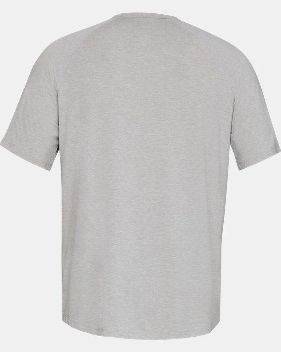 Men's UA RUSH™ Sleepwear Short Sleeve Crew, Gray, pdpMainDesktop image number 4