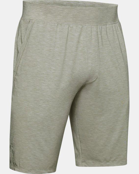 Men's UA RECOVER™ Sleepwear Shorts, Green, pdpMainDesktop image number 4