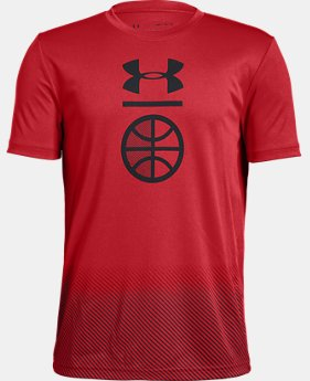 New Arrival Boys' UA Sport Specific Short Sleeve  1  Color Available $20