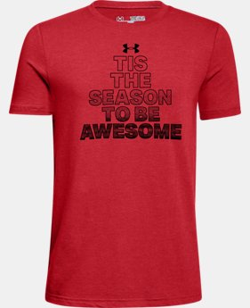 New Arrival Boys' UA Be Awesome T-Shirt  1 Color $19.99