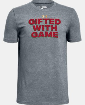 New Arrival Boys' UA Gifted With Game Graphic T-Shirt  1 Color $19.99