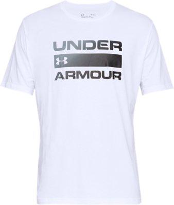 Under Armour Maglia A Manica Corta Box Logo Wordmark