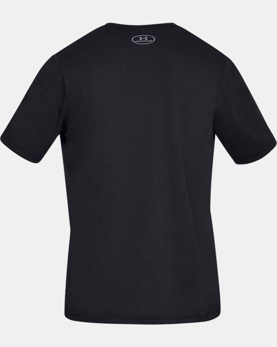 Men's UA Fast Left Chest Short Sleeve, Black, pdpMainDesktop image number 4