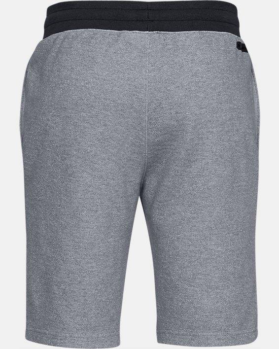 Men's UA Unstoppable Double  Knit Shorts, Gray, pdpMainDesktop image number 5