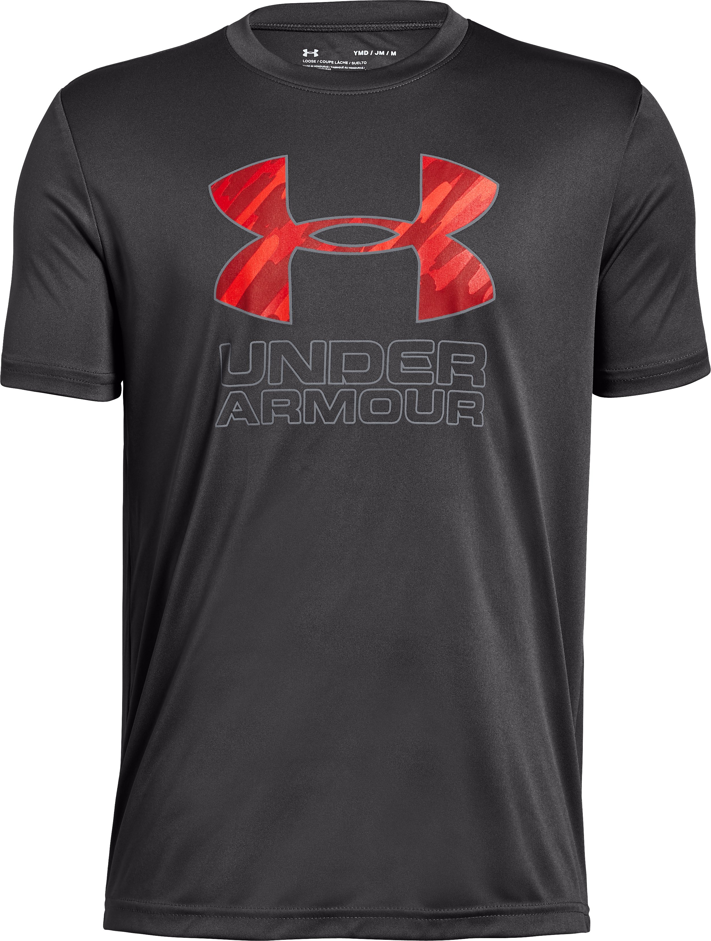 Boys' UA Print Fill Logo T-Shirt 8 Colors $14.99