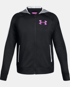 New Arrival Girls' UA SPWW Bomber Jacket  1  Color Available $50
