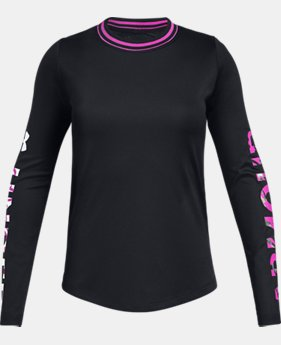 New Arrival Girls' UA SPWW Long Sleeve   2  Colors Available $30