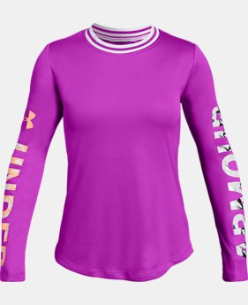 Girls' UA SPWW Long Sleeve   2  Colors Available $30
