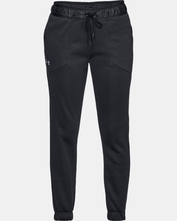 Women's UA Swacket Pants, Black, pdpMainDesktop image number 4