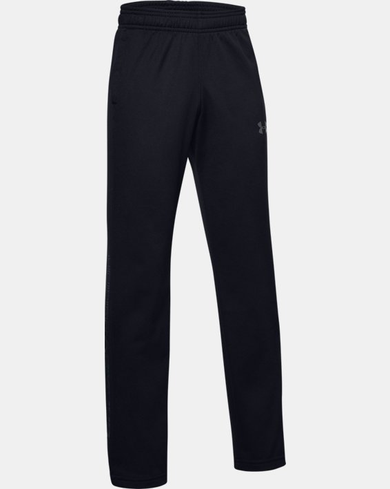 Boys' UA Brawler Pants, Black, pdpMainDesktop image number 0
