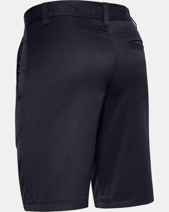 Boys' UA Match Play Golf Shorts, Black, pdpMainDesktop image number 1