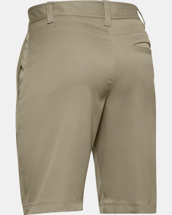 Boys' UA Match Play Golf Shorts, Brown, pdpMainDesktop image number 1