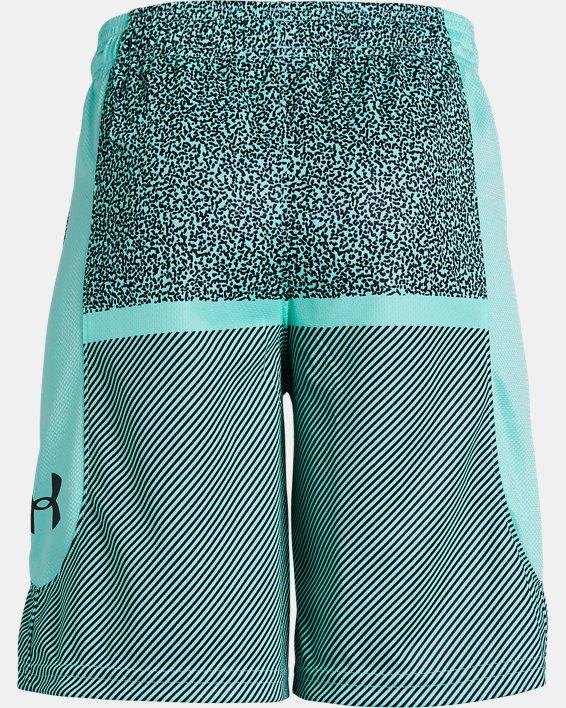 Boys' UA Baseline Shorts, Blue, pdpMainDesktop image number 1