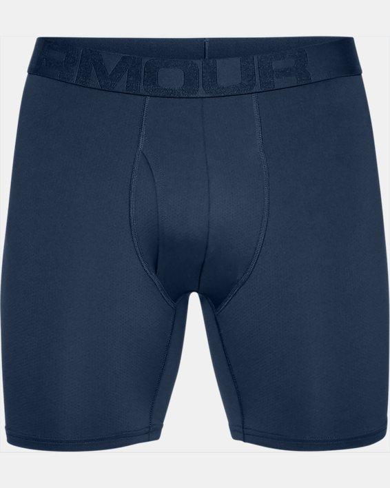 Boxer UA Tech™ Mesh 15cm Boxerjock® pour homme – lot de 2, Navy, pdpMainDesktop image number 3