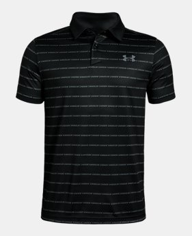 95587a52 Boys' Black Kids (Size 8+) Polo Shirts | Under Armour US