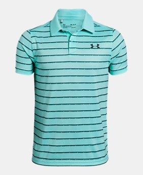 48c84efd Boys' UA Tour Tips Stripe Polo 2 Colors Available $40