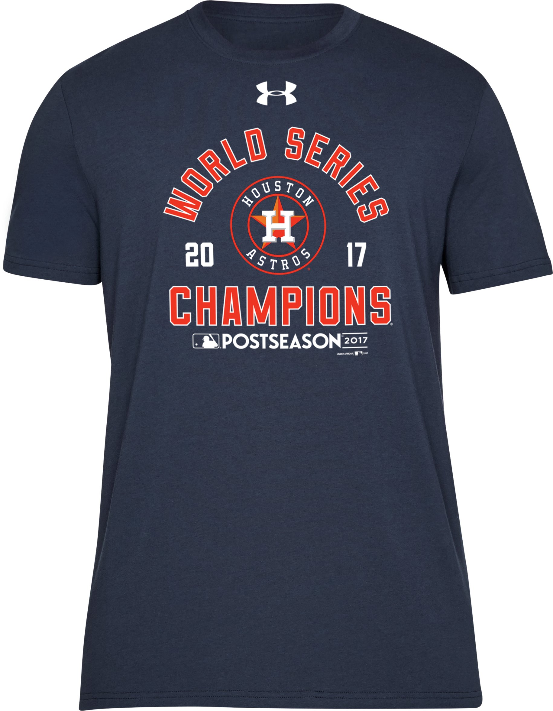 Men's Houston Astros World Series Champs T-Shirt, Midnight Navy, undefined