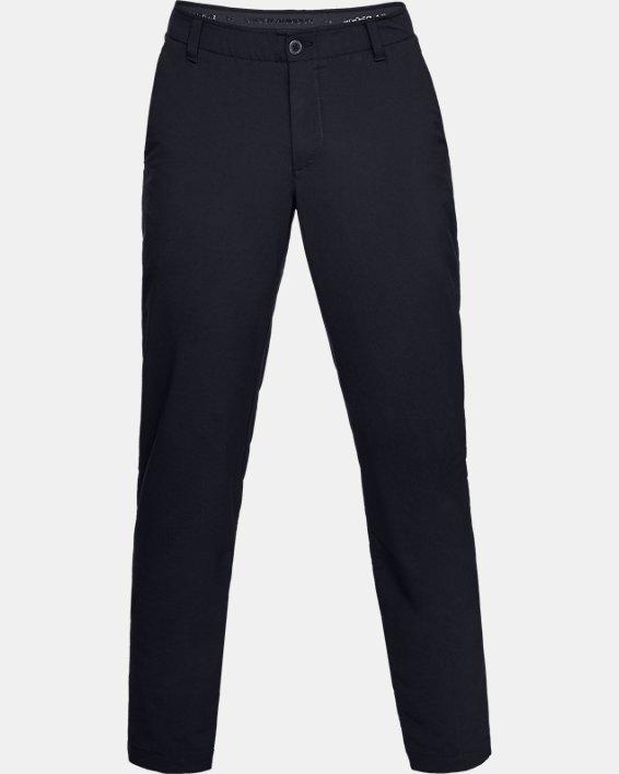 Pantalon UA EU Performance Taper pour homme, Black, pdpMainDesktop image number 3