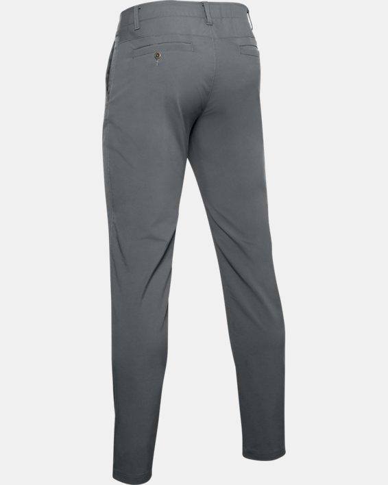 Men's UA EU Performance Taper Pants, Gray, pdpMainDesktop image number 5