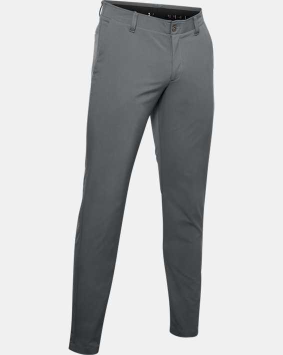 Men's UA EU Performance Taper Pants, Gray, pdpMainDesktop image number 4