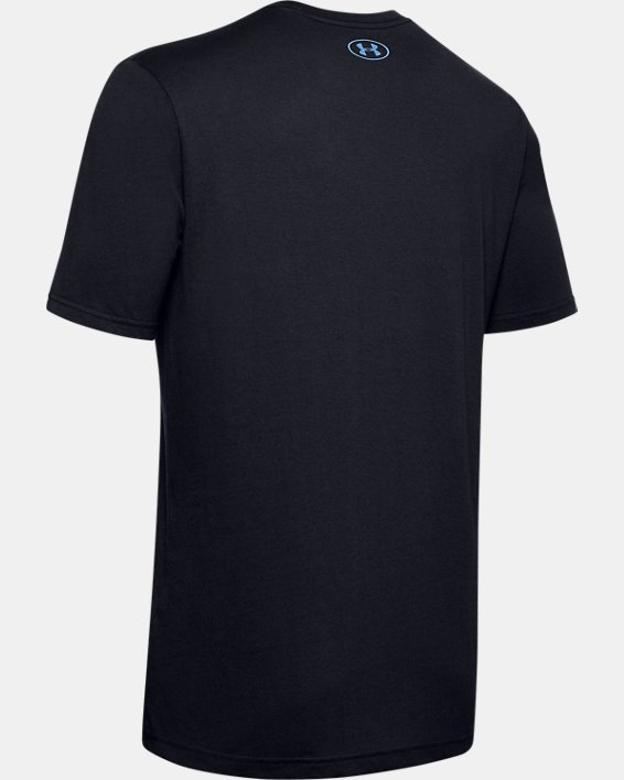 Men's UA Fish Hook Logo T-Shirt, Black, pdpMainDesktop image number 5
