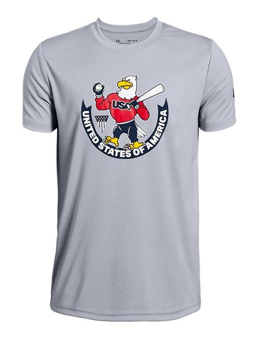 9fe9ed9cd8 Boys' UA USA Eagle Short Sleeve T-Shirt