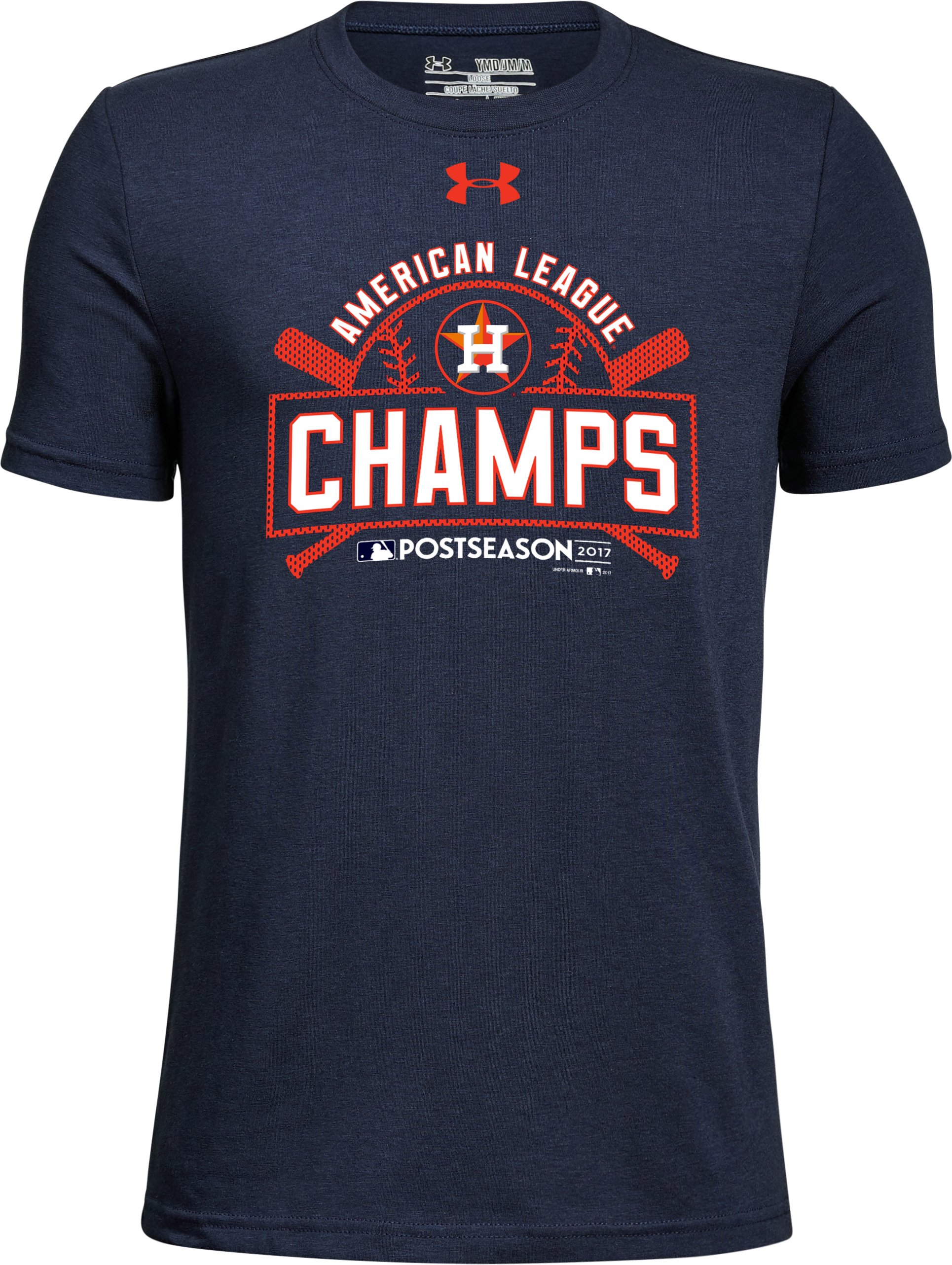Youth Houston Astros League Champs T-Shirt, Midnight Navy, undefined