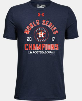 New Arrival Youth Houston Astros World Series Champs T-Shirt  1 Color $25.99