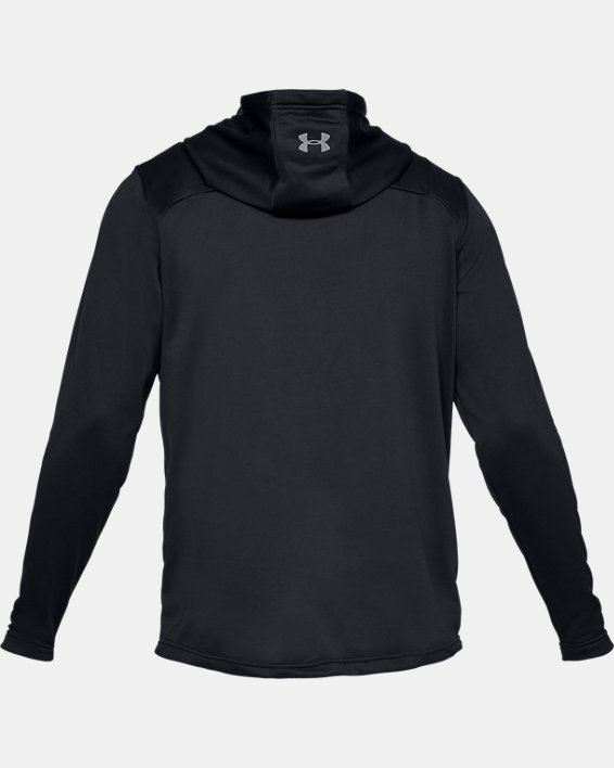 Men's UA Tech Terry Camo Fill Hoodie, Black, pdpMainDesktop image number 4