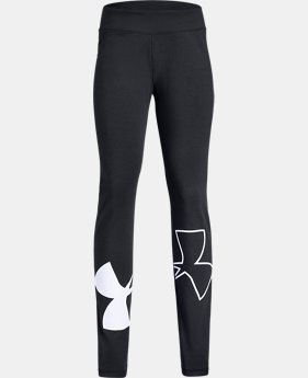 Girls' UA Finale Leggings  1  Color Available $35