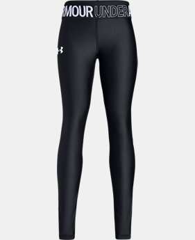 New Arrival Girls' HeatGear® Armour Leggings  1  Color Available $35