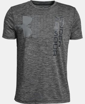 Boys' UA Crossfade T-Shirt  1  Color Available $20